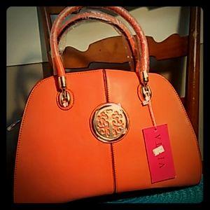 Vietta Coral Handbag